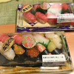 魚寅 - 2016  魚寅のおまかせ寿司(特上)とマグロ中トロ寿司