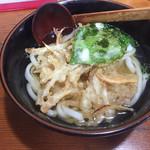 うどん亭都 - 料理写真:ごぼう天うどん=600円