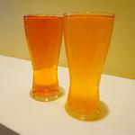 宮多麦酒 - 左:ペールエール 右:ゴールデンエール