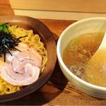 粋な一生 - 塩つけ麺780円