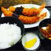 ひょうたんや - 料理写真:海老フライ の定食セット