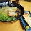 二代目はまたに食堂 - 料理写真:塩ラーメン&餃子セット