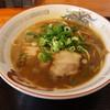 今心 - 料理写真:中華そば(シングル550円、斜め上から)