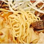 麺匠 呉屋 - 浅草開化楼謹製の麺。
