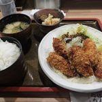 57808765 - 「カキフライ定食」(850円込)(2016年10月)