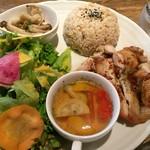 パプリカ食堂 - 平成28年9月12日日替りワンプレートランチ850円税込