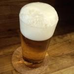 麦酒大学 - 生ビール/三度注ぎ