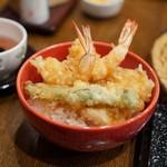 """玄蕎麦 野中 - 安定の""""お子様天丼"""""""