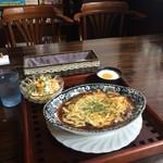 ノラリ&クラリ - 焼きチーズカレーセットをいただきました(2016.10.22)