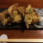 かのせ庵 - 納豆てんぷら