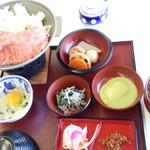 レストラン源 - 前沢牛すき焼き御膳2000円