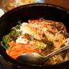 かしき屋福茂千 - 料理写真:石焼ビビンバの昼膳 (¥1,030)