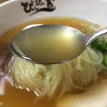 ぴょんぴょん舎 - 少しとろみのあるスープ