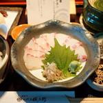 八代目儀兵衛 - 京の鯛茶漬け (¥1,480)