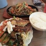 韓国料理 シンガネ - プルコギ定食920円