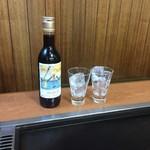 もんじゃ はざま - 月島のワイン