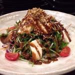 ADO - 生湯葉と豆腐の田楽サラダ