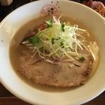 麺匠 さくら咲く - 新べジポタ鶏白湯ラーメン(880円)