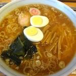 大勝軒 - 中華麺と玉子です