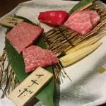炭火焼肉・にくなべ屋 神戸びいどろ - 半分食べちゃってますw