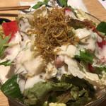 地魚屋台 とっつぁん - 2016/10/21  シーザーサラダ
