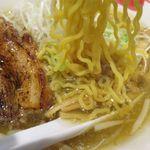 麺部屋 綱取物語 - 塩ラーメンの麺