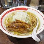 麺部屋 綱取物語 - 塩ラーメン(750円)