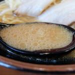 濃厚家 - スープ