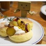 FLIPPER'S - 奇跡のパンケーキ スイートポテトクリーム