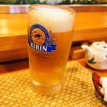 浜寿司 - 生ビール