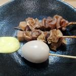 麺家神明 - 料理写真:関東煮