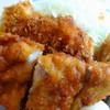 かつや - 料理写真:チキンカツとから揚げの合い盛り丼 637円