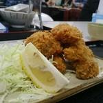 魚市場食堂 - 牡蠣フライ