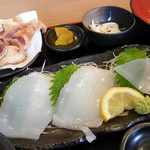 銀蔵 - 剣先いか造り定食