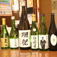 充実の日本酒