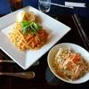 山岡カントリークラブ - 料理写真:カニ風味のトマトクリームパスタ・リングイネ、食事付で追加金無しのメニュー