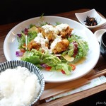 柿の木 - 2016年8月 鶏の南蛮タルタル【1080円】