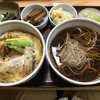 そば処 大和 - 料理写真:カツ丼セット