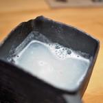 玉笑 - そば湯は濃厚系