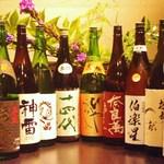 地鳥料理 万徳 別亭 安東 - 日本酒