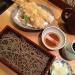 山せみ - セットの山せみ(2900円)...せいろ&天ぷら