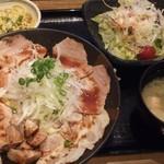 バードマン TRIO - ローストポーク丼セット850円
