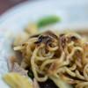 飛龍 - 料理写真:麪條(そば)の煎(や)き目(め)、焦(こ)げすぎ