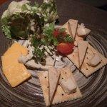 手づくり酒房 ほんのり - チーズ盛合せ