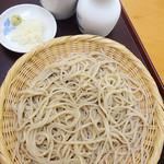 為楽庵 - ざる蕎麦