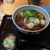 蕎麦酒処つきじ庵 - 料理写真:揚げ餅蕎麦