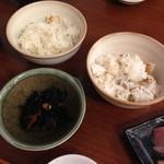 なみ - ご飯セット(イサキご飯)