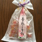 家傳京飴 祇園小石 - 薔薇の香飴