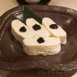 日本料理 徳 - 真珠卵の出汁巻き