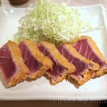 日本料理 徳 - まぐろかつ